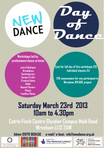 Day of Dance A4 Flyer